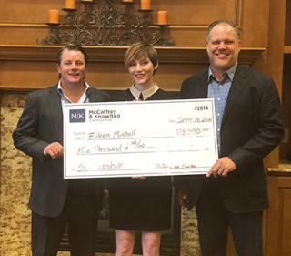 2018 McCaffrey-Knowlton Scholarship Recipient Eileen Mitchell