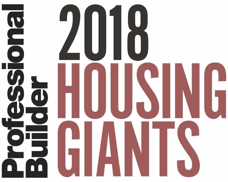 McCaffrey Homes Named a Housing Giant by Professional Builder Magazine for Sixth Straight Year
