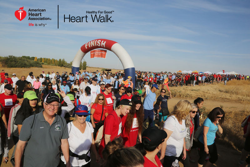 2016 Heart walk at Tesoro Viejo