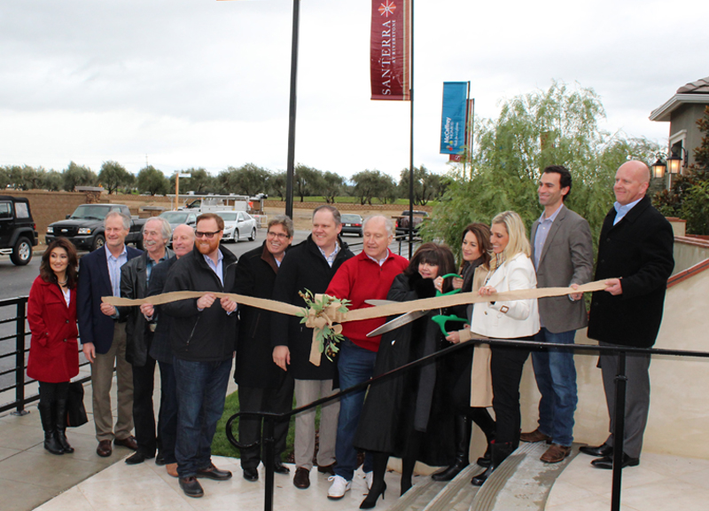 Ribbon Cutting for Santerra at Riverstone