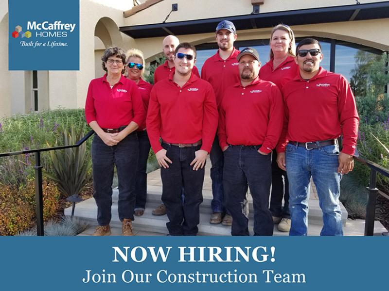 Join our Construction Team!