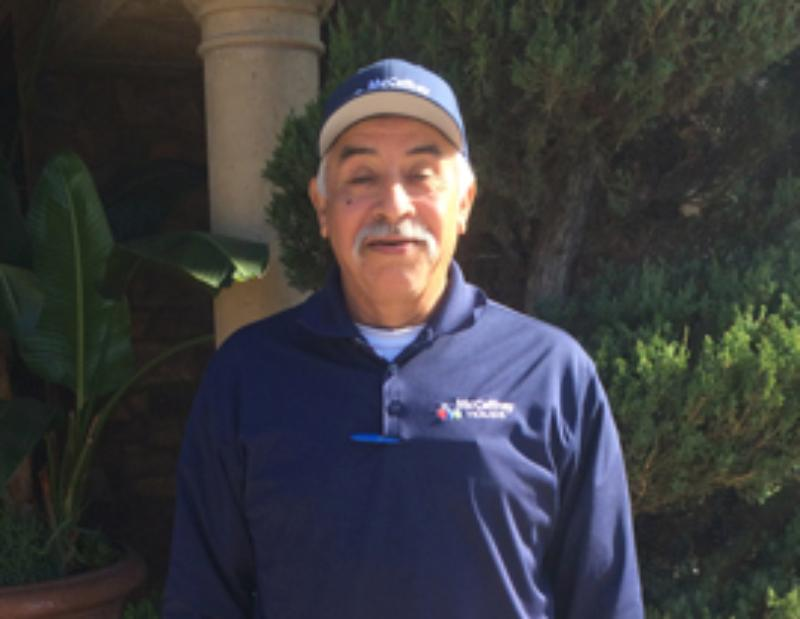 John Perez Celebrates 15 Years of Service with McCaffrey Homes