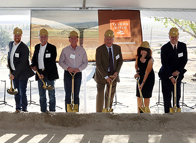 Groundbreaking Ceremony Marks Start of Construction on Tesoro Viejo