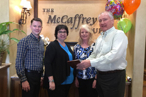 Three Team Members of McCaffrey Homes Reach 10 Years of Service