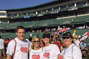 McCaffrey Homes Raises $11,600 in the American Heart Association's Heart Walk
