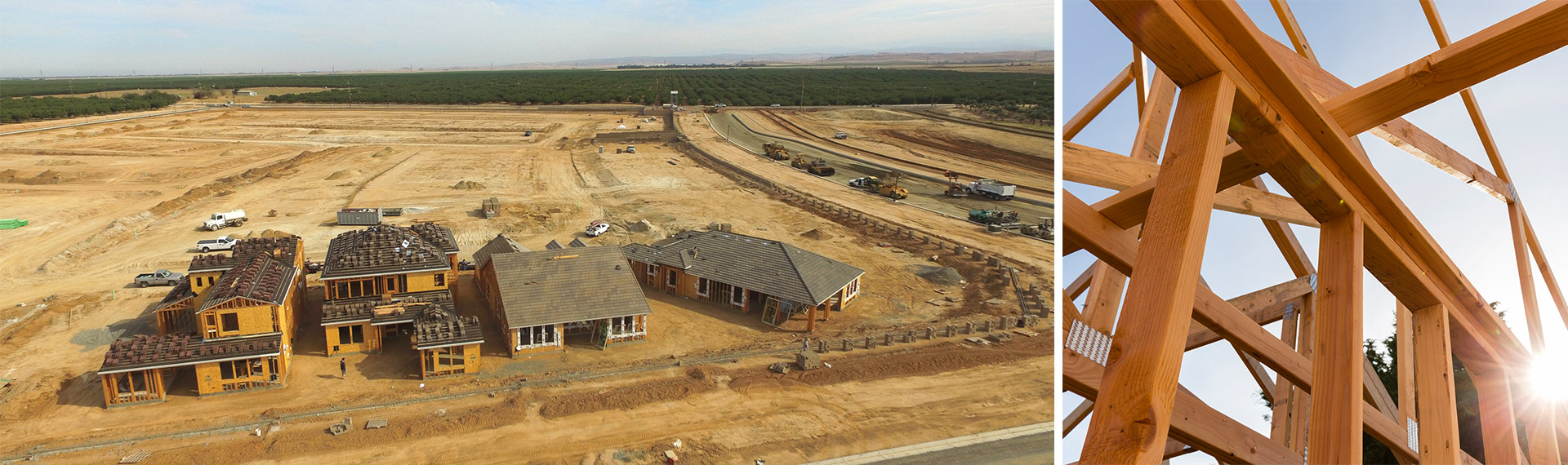 New home construction in fresno clovis madera ca for Stages of home construction