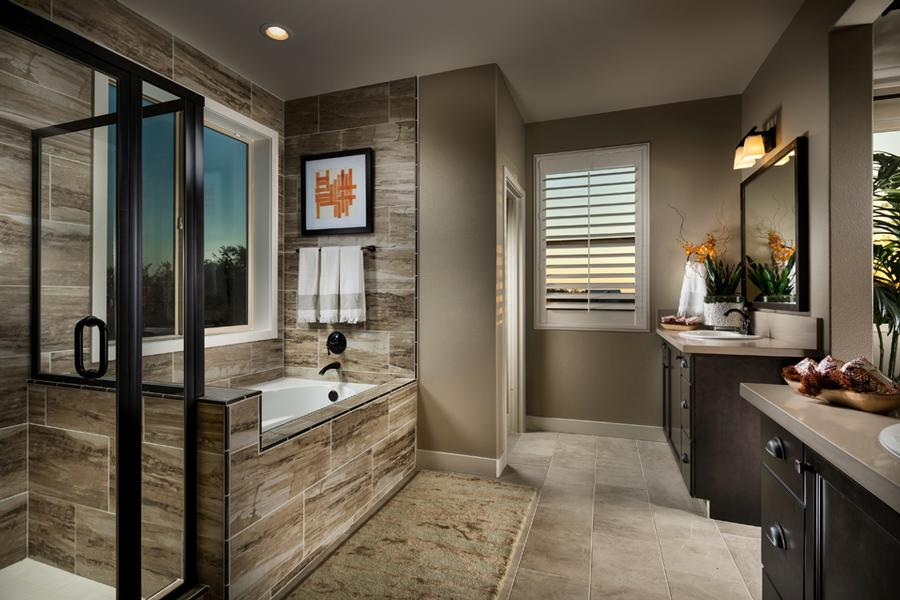Santerra Residence Three Master Bath