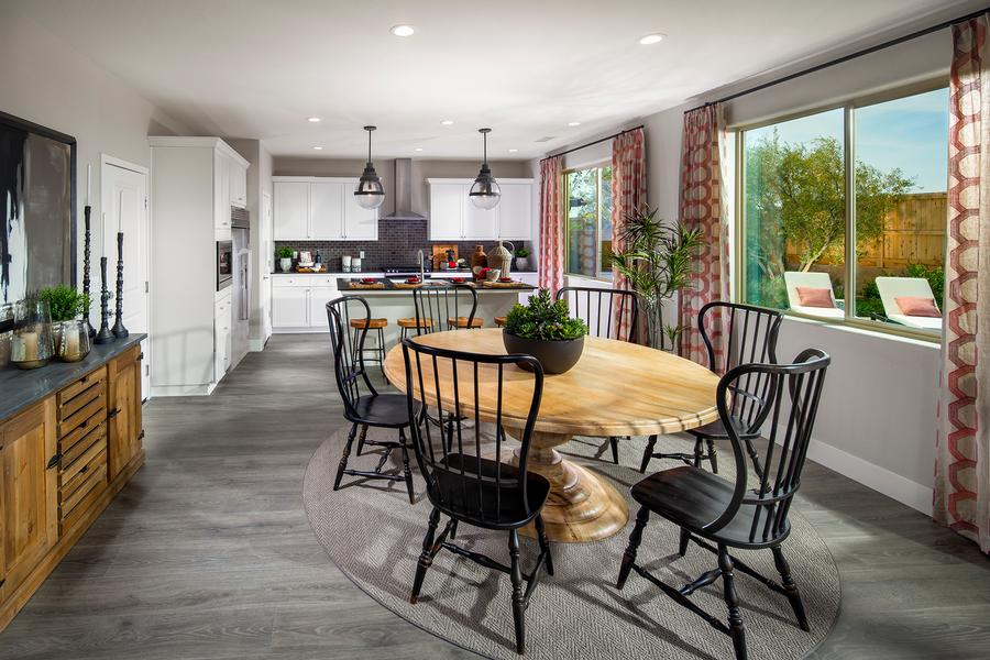McCaffrey Homes  |  Birch Model Kitchen & Dining  |  Hickory at Tesoro Viejo