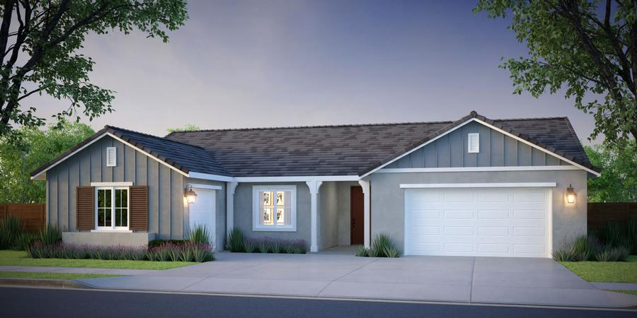 McCaffrey Homes  |  Birch Model Farmhouse Architecture  |  Hickory at Tesoro Viejo