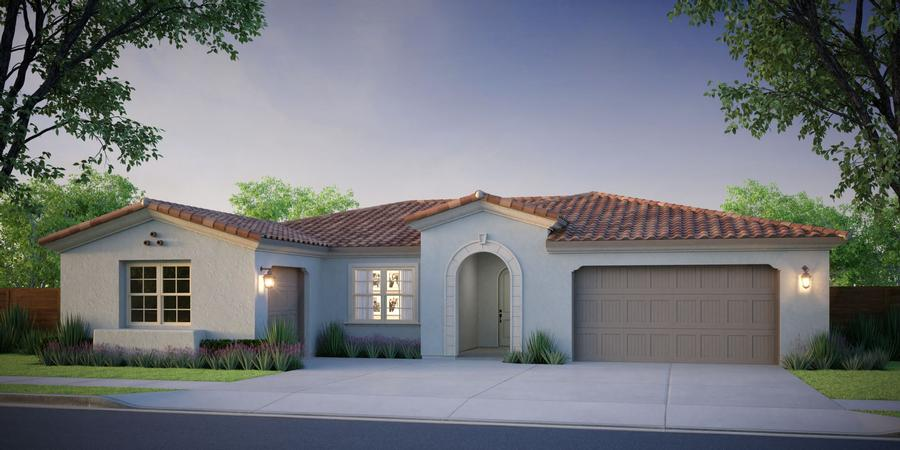McCaffrey Homes  |  Birch Model Santa Barbara Architecture  |  Hickory at Tesoro Viejo