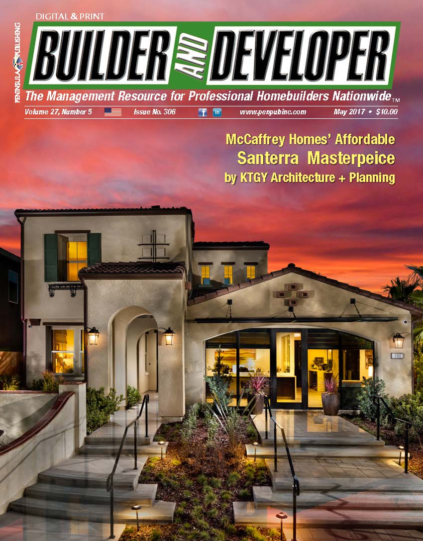 May 2017 Builder and Developer magazine